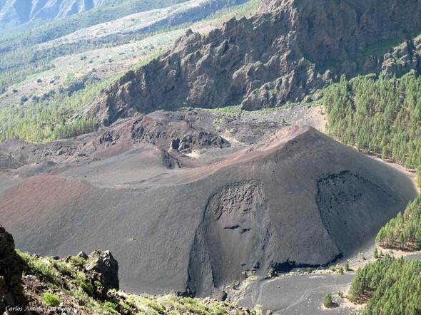 Volcán Montaña de Las Arenas - Caldera de Pedro Gil - Tenerife