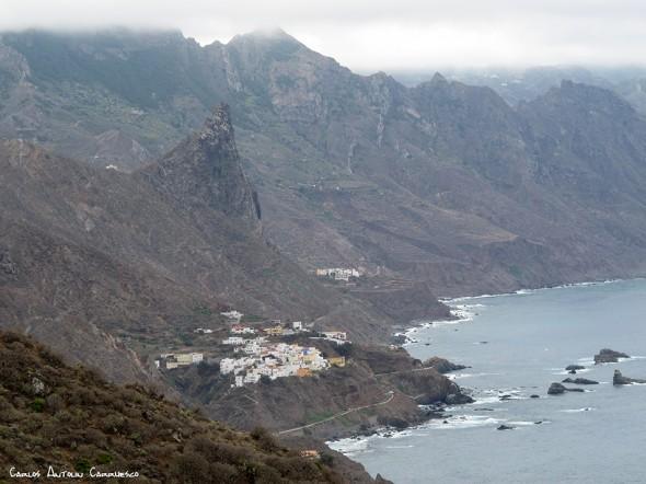 Anaga - Tenerife - almáciga - roque de las ánimas