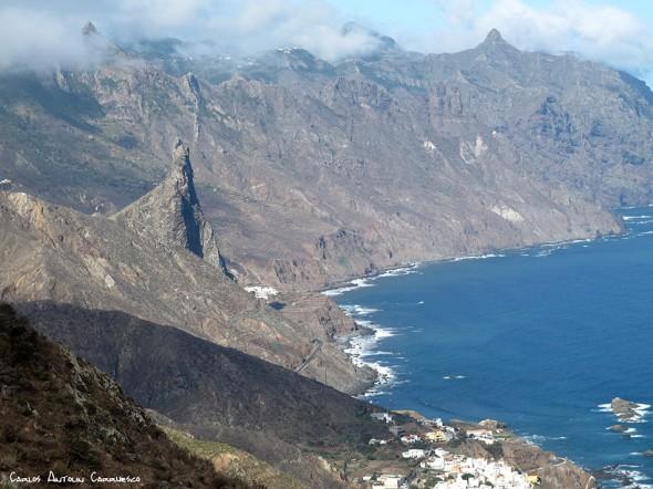 Roque de las Ánimas - Almáciga - Anaga - Tenerife