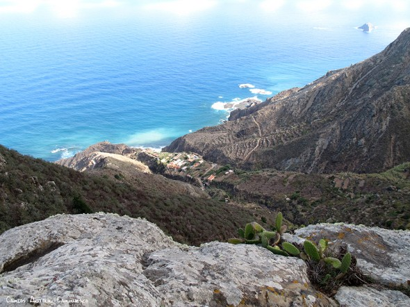 Anaga - Tenerife - El Draguillo - elevación montañosa conocida como Icoso