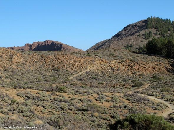sendero Nº1 - P.N. del Teide - Tenerife<br/>La Fortaleza