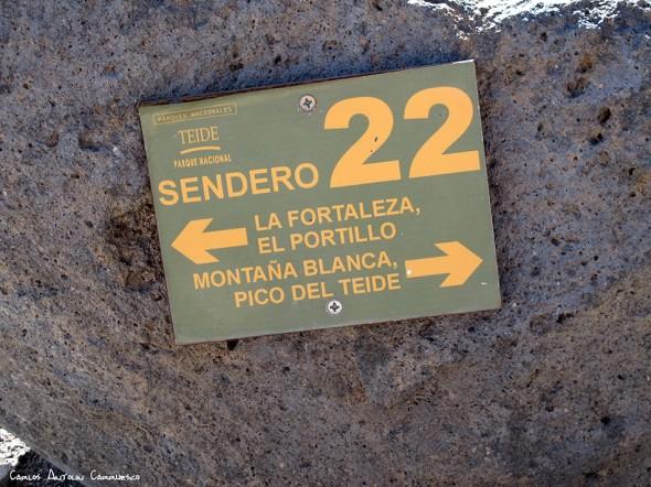 sendero Nº22 - P.N. del Teide - Tenerife