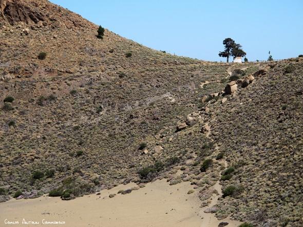 sendero Nº22 - P.N. del Teide - Tenerife<br/>La Fortaleza - ermita Cruz de Fregel