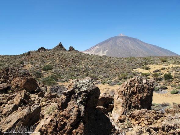 sendero Nº1 - P.N. del Teide - Tenerife