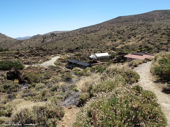 sendero Nº1 - P.N. del Teide - Tenerife<br/>Centro de Visitantes de El Portillo