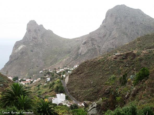 Camino de las Vueltas - Anaga - Tenerife<br/>Taganana - Roque de las Ánimas