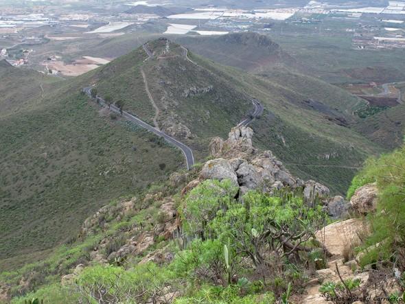Roque de Jama - Monumento Natural de Jama - La Centinela