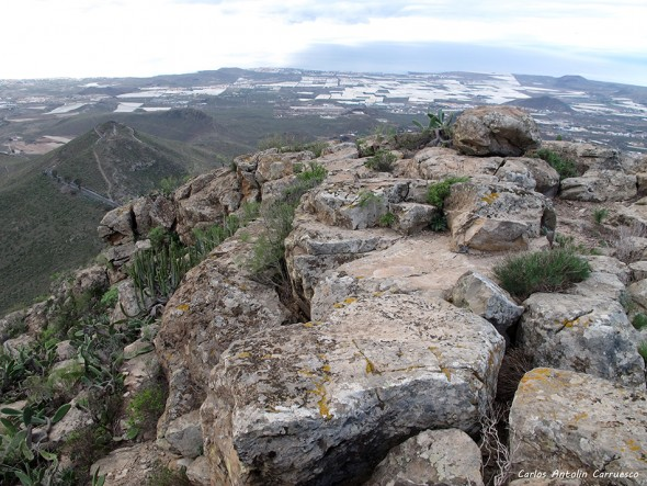 Monumento Natural de Jama - Roque de Jama - Tenerife