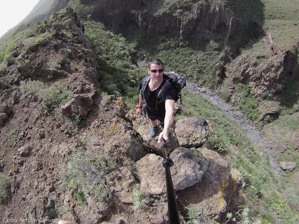 Camino del Topo - Arona - Tenerife - barranco del rey