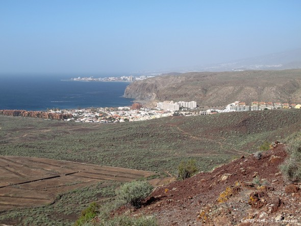Malpaís de La Rasca - Montaña Grande - Tenerife - el Palm-Mar - los cristianos
