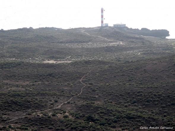 Malpaís de La Rasca - Montaña Grande - Tenerife - faro de la rasca