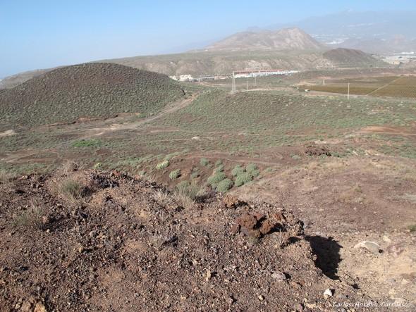 Malpaís de La Rasca - Montaña Grande - Tenerife