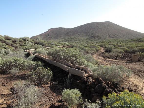 Malpaís de La Rasca - Tenerife - montaña grande