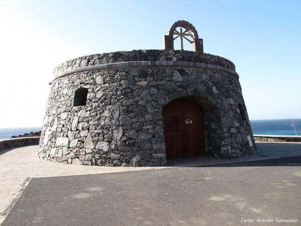 Malpaís de La Rasca - Tenerife - castillo - El Palm-Mar