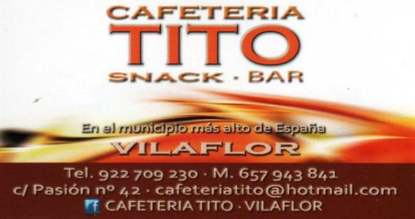 Cafetería TITO - Snack - Bar - VILAFLOR
