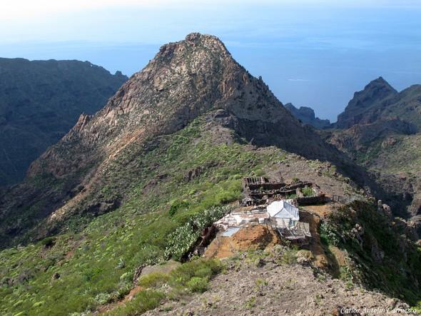 Risco Blanco - Roque Blanco - Teno - Tenerife
