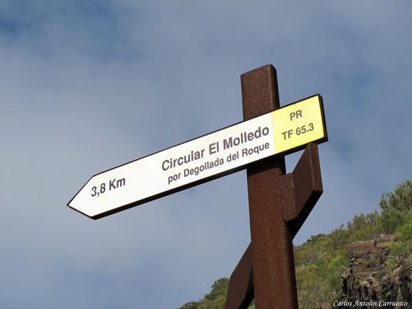cruce de senderos - El Molledo