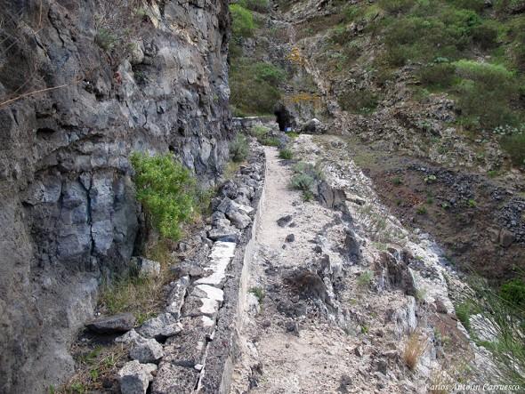 Canal El sauce - Parque Rural de Teno - Tenerife