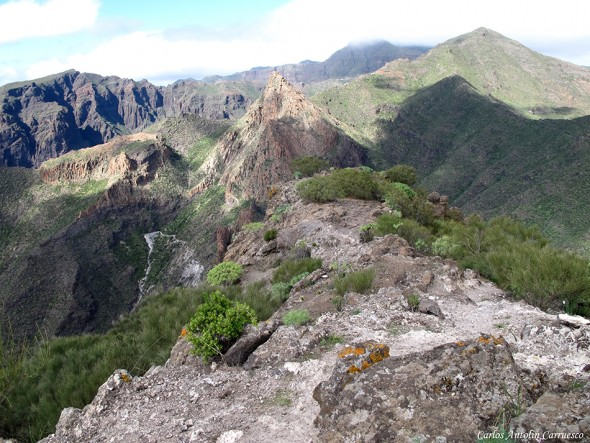 Barranco Seco - Risco Blanco - Teno - Tenerife
