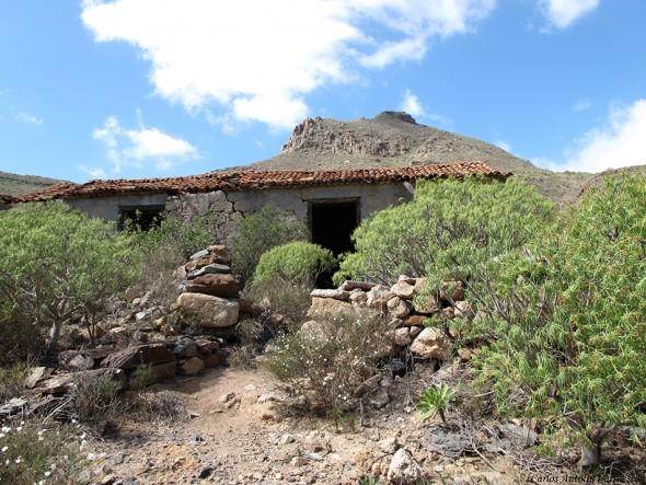 La casa del Gato - Camino Real del Sur - Tenerife - roque de jama