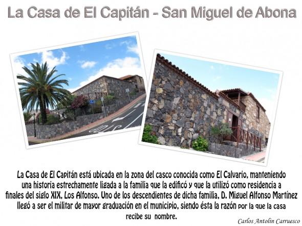 La Casa de El Capitán - San Miguel de Abona