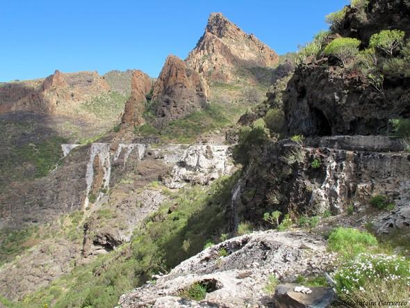 Risco Blanco - Barranco Mancha de Los Diez - Tenerife