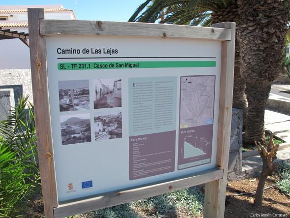 Camino Las Lajas - San Miguel de Abona - Aldea Blanca