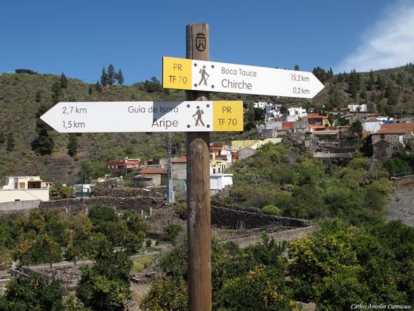 Camino de La Campana - Chirche - Tenerife