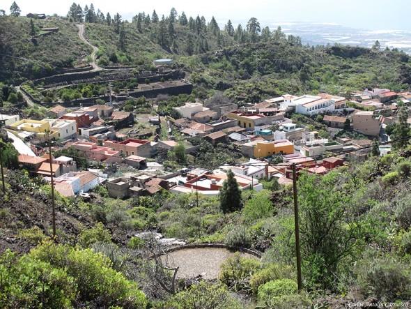 Chirche desde el Mirador de Chirche - Tenerife