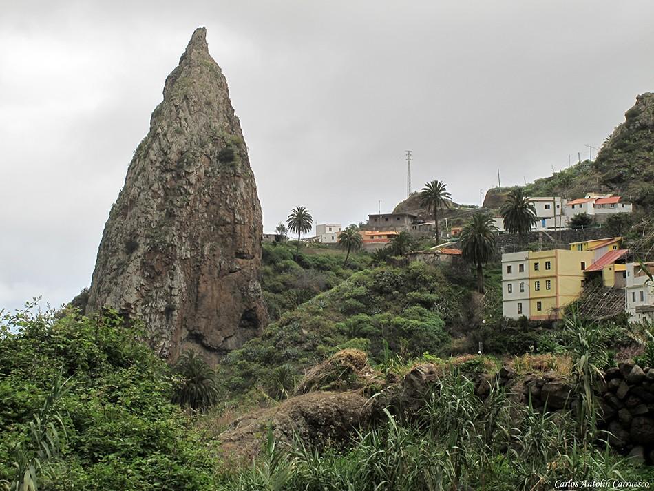 Roque El Chico - Hermigua - La Gomera