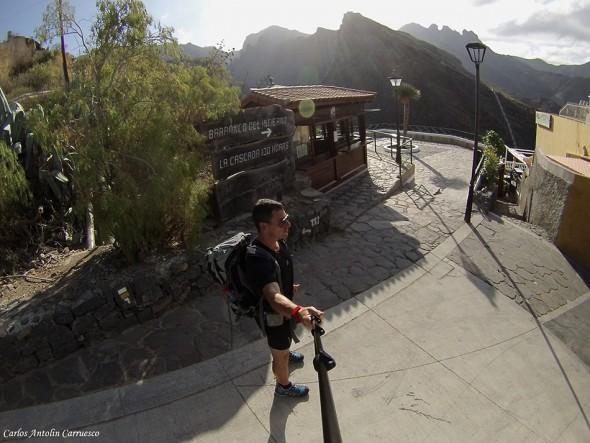 Entrada al Barranco del Infierno - Adeje