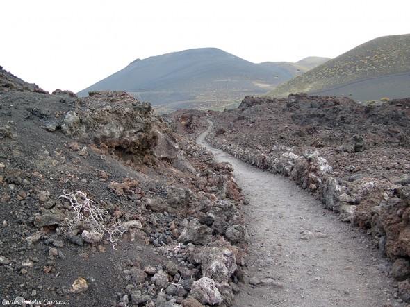 Transvulcania - GR131 - paisaje lunar - La Palma