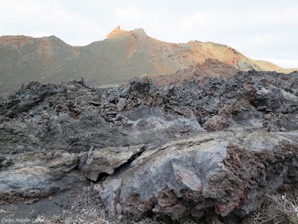 Transvulcania - GR131 - volcán Teneguía - La Palma