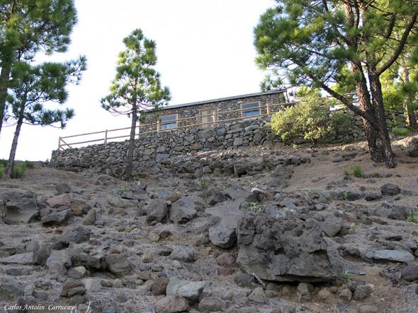 Transvulcania 2015 - GR131 - La Palma - refugio punta de los roques