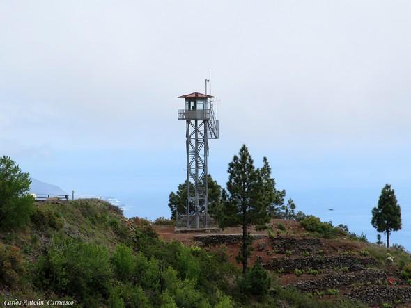GR131 - Transvulcania 2015 - La Palma - torre del time