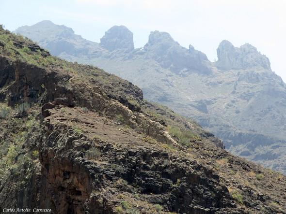 Barranco del Infierno - Adeje - Tenerife - degollada de los frailitos
