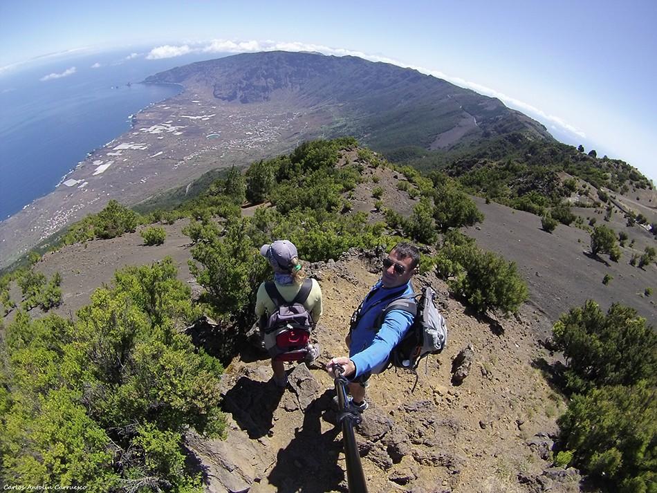 Alto de Malpaso - Tinganar (1,501 metros) - El Hierro