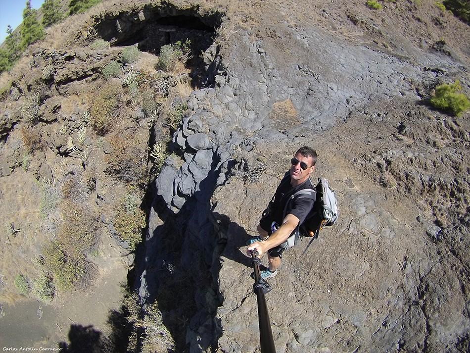 Cueva de Juan Baltasar - El Julan - isla de El Hierro