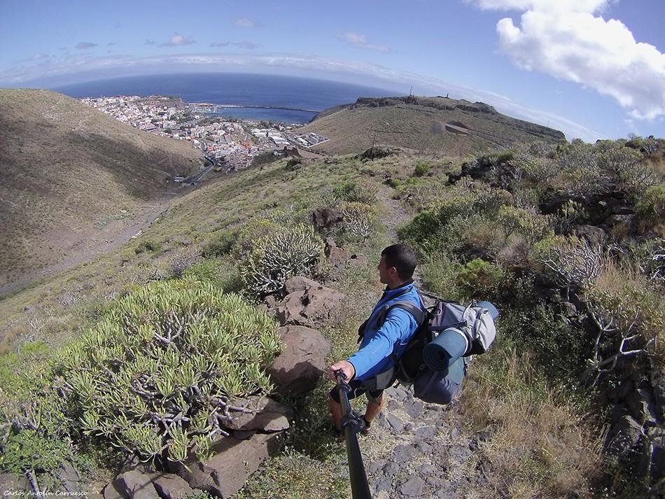GoPro Hero 3 - GR131 - La Gomera - san sebastian de la gomera
