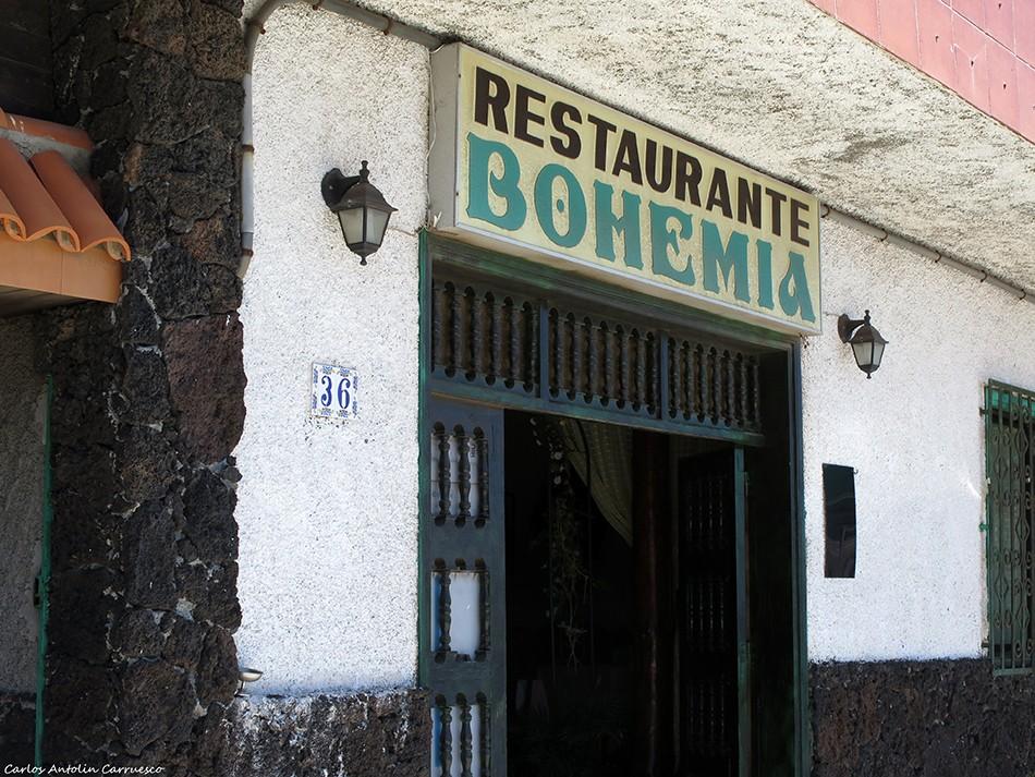 Restaurante Bohemia - Las Playas - El Hierro