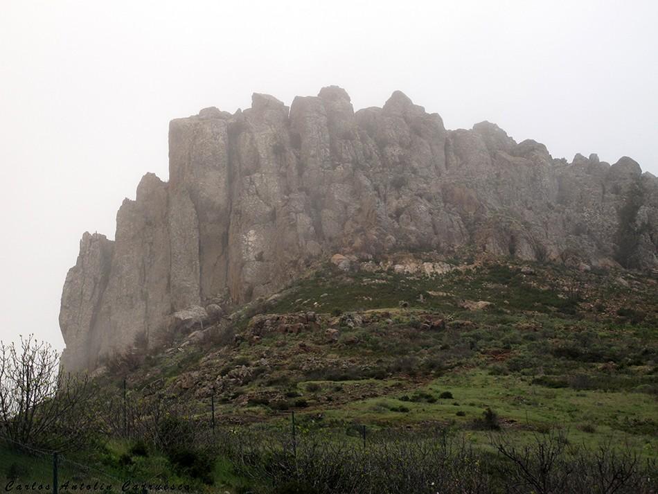 Chipude - GR131 - La Gomera - fortaleza