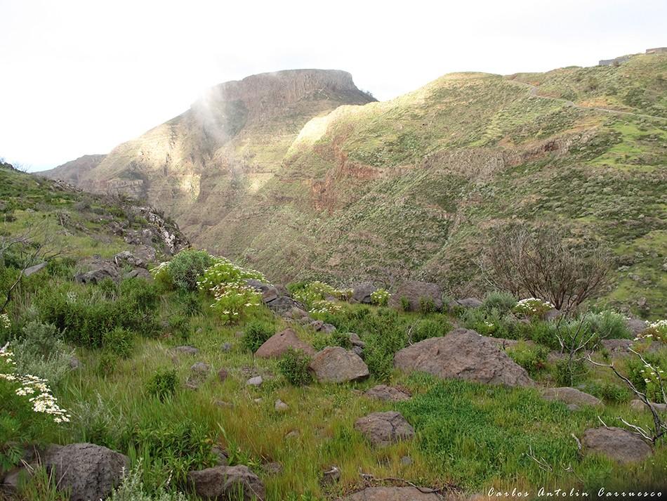 GR131 - La Gomera - chipude - fortaleza