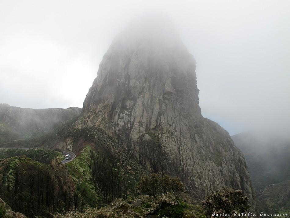 Roque de Agando - isla de La Gomera