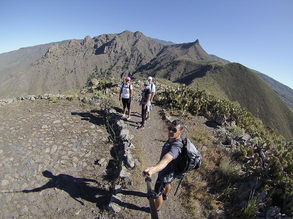 Roque del Conde - Tenerife - imoque - degollada de los frailitos - ichasagua