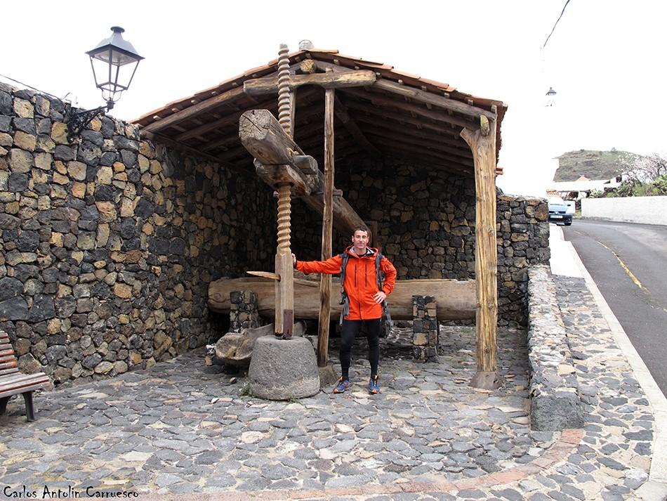 Arguayo - Ruta de los Almendros - Tenerife - Prensa de vino