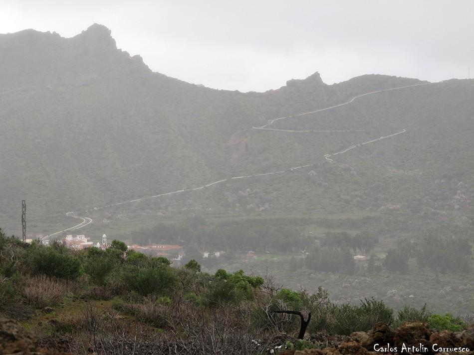 Ruta de los Almendros - Chinyero - Tenerife - Degollada de Cherfé