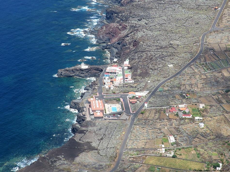 La Dehesa - Mirador de Bascos - El Hierro - pozo de la salud - balneario