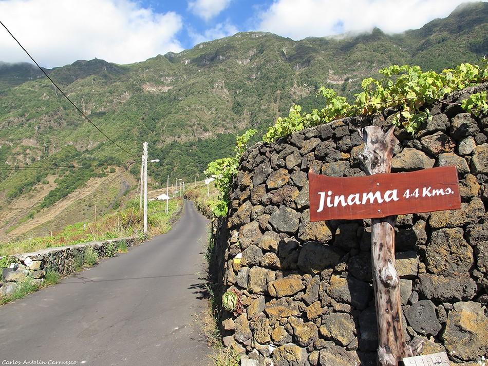 Camino de Jinama - Frontera - El Hierro