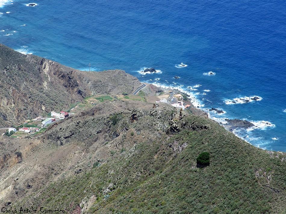 Mirador Cabezo del Tejo - Anaga - Tenerife - benijo