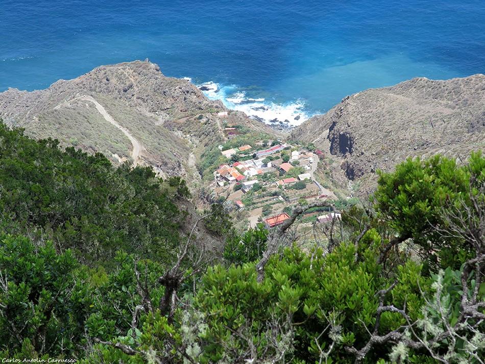 Mirador Cabezo del Tejo - Anaga - Tenerife - el draguillo